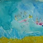 """Рисунок 1 (""""Море"""" в рамках выставки """"Айвазовский"""")"""