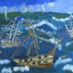 """Рисунок 3 (""""Море"""" в рамках выставки """"Айвазовский"""")"""