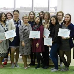 В «Незабудках» завершился первый этап Монтессори-курсов 2017-18 учебного года.