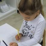 Обучение письму пжо системе Монтессори